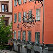 "Restaurant ""Fem Sma Hus"" (Five Small Houses) in Gamla Stan, Stockholm"