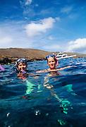 Snorkeling, Molokini, Maui, Hawaii