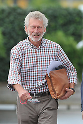 30.07.2012, Saebener Strasse, Muenchen, GER, 1. FBL, FC Bayern Muenchen, Training, im Bild Ein gutgelaunter Paul BREITNER (FC Bayern Muenchen) beim Training an der Saebener Strasse. // during a Trainingssession of the German Bundesliga Club FC Bayern Munich at the Saebener Strasse, Munich, Germany on 2012/07/30. EXPA Pictures © 2012, PhotoCredit: EXPA/ Eibner/ Wolfgang Stuetzle..***** ATTENTION - OUT OF GER *****