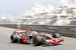 File photo dated 24-05-2008 of Lewis Hamilton in the Vodafone McLaren Mercedes