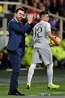 Eusebio Di Francesco of AS Roma reacts during the Serie A 2018/2019 football match between ACF Fiorentina and AS Roma at stadio Artemio Franchi, Firenze, November 03, 2018 <br />  Foto Andrea Staccioli / Insidefoto