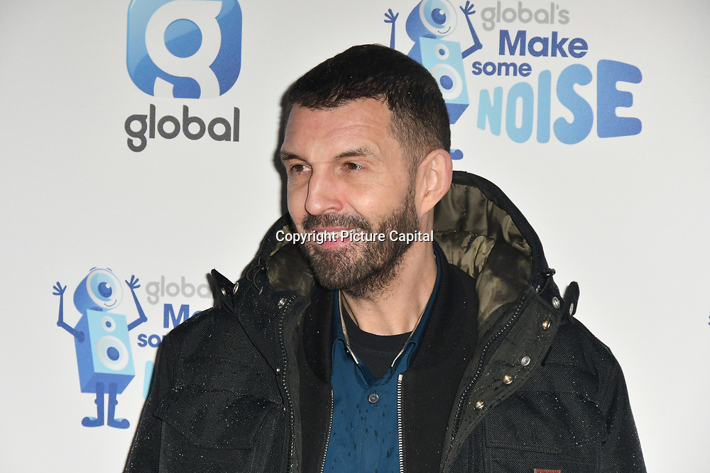 Tim Westwood arrivers at the Global's Make Some Noise Night at Finsbury Square Marquee on 20 November 2018, London, UK.