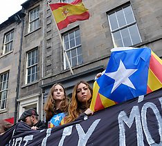Catelonia Independence Vote Protest | Edinburgh | 21 September 2017