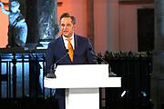 Officiele huldiging van de Olympische en Paralympische medaillewinnaars in de Grote Kerk of St. Jacobskerk, Den Haag.<br /> <br /> op de foto: Hugo de Jonge Minister van Volksgezondheid, Welzijn en Sport