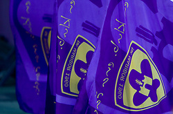 Flags of Maribor at Third Round of Champions League qualifications football match between NK Maribor and FC Zurich,  on August 05, 2009, in Ljudski vrt , Maribor, Slovenia. Zurich won 3:0 and qualified to next Round. (Photo by Vid Ponikvar / Sportida)