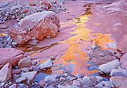 Canyon Water Reflections, Glen Canyon, Utah