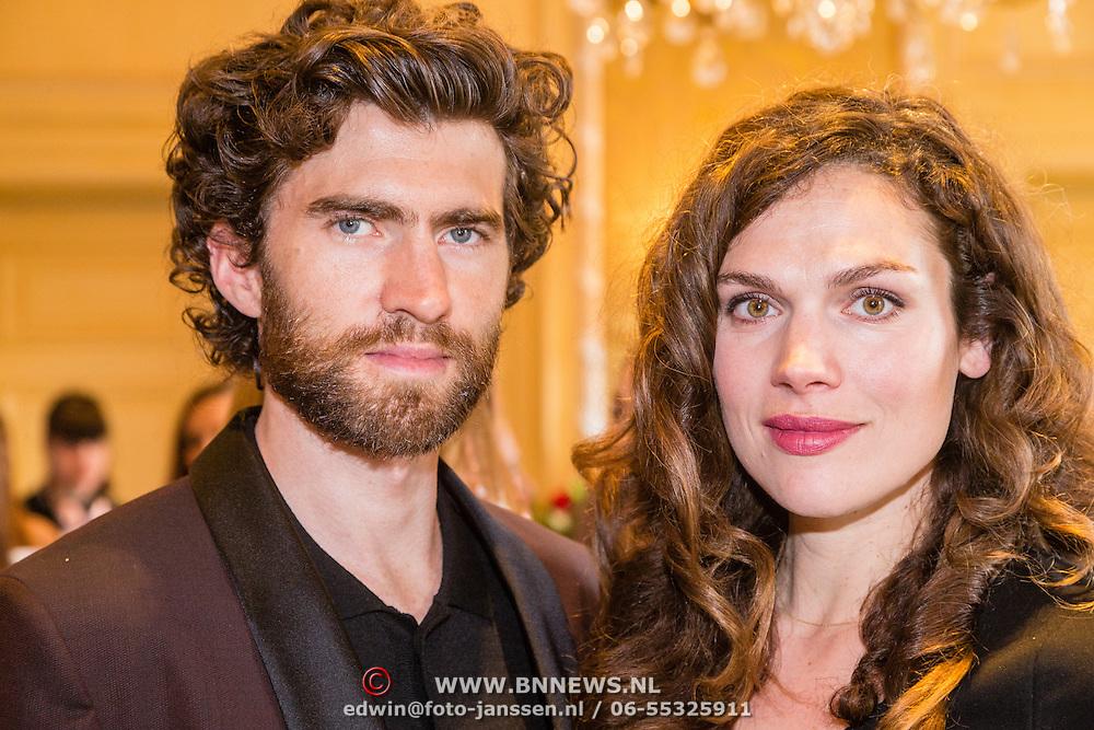 NLD/Amsterdam201606230 - Vogue The Book - Exclusive Pre-Launch, zwangere Anna Drijver en partner Benja Bruining