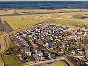 Nederland, Utrecht, Gemeente Stichtse Vecht, 20-02-2012; Loenen aan de Vecht, Nieuwbouwwijkje.New housing district in the village of Loenen aan de Vecht. luchtfoto (toeslag), aerial photo (additional fee required);.copyright foto/photo Siebe Swart.