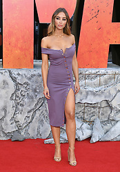 Lauren Pope attending the European premiere of Rampage, held at the Cineworld in Leicester Square, London. Photo credit should read: Doug Peters/EMPICS Entertainment