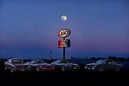 BOLO Photo<br /> Wild West Automotive Photography<br /> Full Moon Float<br /> April 18, 2019: Eaton, Colorado<br /> (1964-1/2 Ford Mustang: Lyle and Cindy Brownell)<br /> (1995 Chevrolet Corvette: Terry Butler) <br /> (1979 Pontiac Trans Am: Heather Wendelboe)<br /> (1987 Buick Turbo T: Wayne Emmons)