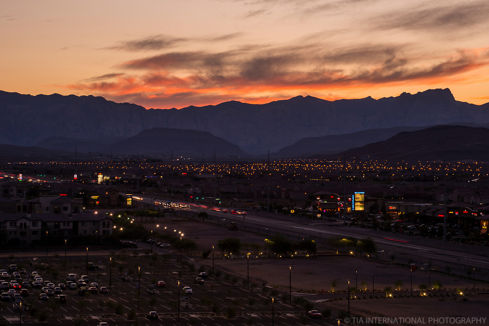 Las Vegas Valley & Spring Mountain Range