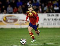 Fifa Womans World Cup Canada 2015 - Preview //  Friendly Match -<br /> Spain vs New Zealand 0-0  ( Municipal Stadium - La Roda , Spain ) <br /> Sonia Bermudez of  Spain