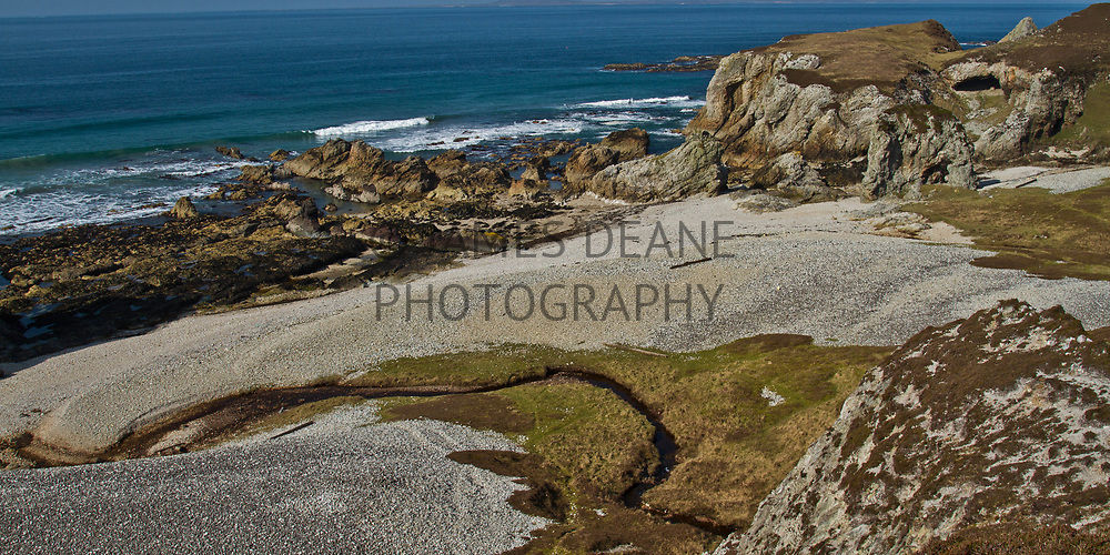On Islay's North coast there are many interesting raised beaches, caves, arches and sea stacks