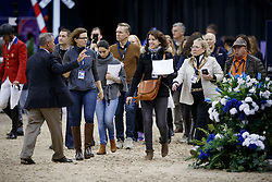 Press<br /> Round 2<br /> Longines FEI World Cup Jumping, Omaha 2017 <br /> © Hippo Foto - Dirk Caremans<br /> 01/04/2017