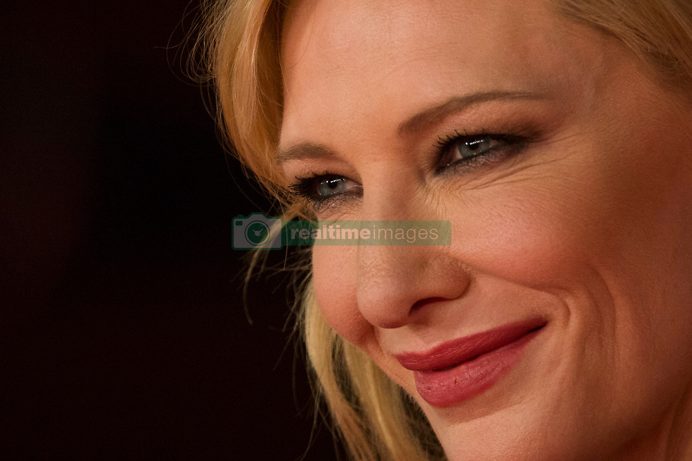 "Red Carpet for ""The House With a Clock in Its Walls"" during the 13th Rome Film Fest at Auditorium Parco Della Musica in Rome on October 18, 2018. 19 Oct 2018 Pictured: Cate Blanchett poses for photographer during the red carpet for ""The House With a Clock in Its Walls"" at the 13th Rome Film Fest at Auditorium Parco Della Musica in Rome on October 18, 2018. Photo credit: Stefano Costantino / MEGA TheMegaAgency.com +1 888 505 6342"