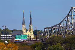 Murray Baker  Bridge over the Illinois River between East Peoria and Peoria is the Interstate 74 (I74) roadway