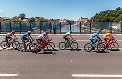 05.07.2017, Altheim, AUT, Ö-Tour, Österreich Radrundfahrt 2017, 3. Etappe von Wieselburg nach Altheim (226,2km), im Bild Stephan Rabitsch (AUT, Team Felbermayr Simplon Wels), Markus Eibegger (AUT, Team Felbermayr Simplon Wels), Benjamin Brkic (AUT, Tirol Cycling Team), Felix Grossschartner (AUT, CCC Sprandi Polkowice), Patrick Bosman (AUT, Hrinkow Advarics Cycleang), Delio Fernandez Cruz (ESP, Delko Marseille Provence KTM), Patryk Stosz (POL, CCC Sprandi Polkowice) // Stephan Rabitsch (AUT, Team Felbermayr Simplon Wels), Markus Eibegger (AUT, Team Felbermayr Simplon Wels), Benjamin Brkic (AUT, Tirol Cycling Team), Felix Grossschartner (AUT, CCC Sprandi Polkowice), Patrick Bosman (AUT, Hrinkow Advarics Cycleang), Delio Fernandez Cruz (ESP, Delko Marseille Provence KTM), Patryk Stosz (POL, CCC Sprandi Polkowice) during the 3rd stage from Wieselburg to Altheim (199,6km) of 2017 Tour of Austria. Altheim, Austria on 2017/07/05. EXPA Pictures © 2017, PhotoCredit: EXPA/ JFK