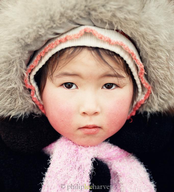 Portrait of a young girl, Irkutsk, Siberia, Russia