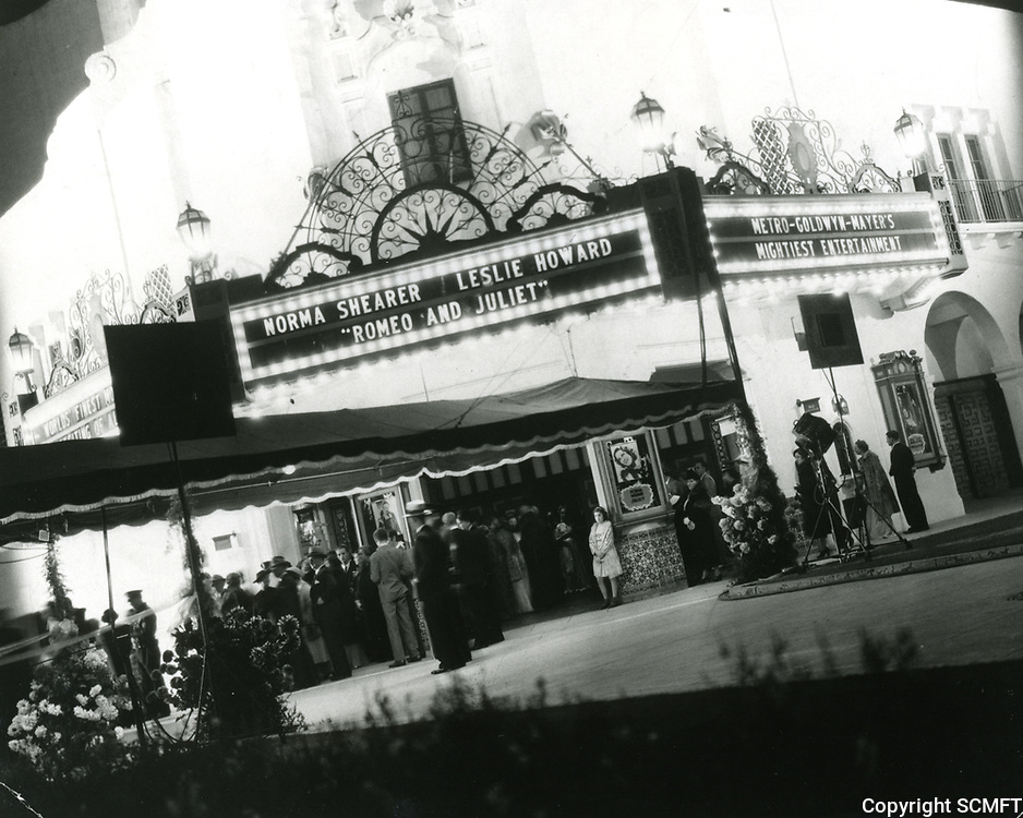 1936 Premiere of Romeo & Juliet at the Carthay Circle Theater