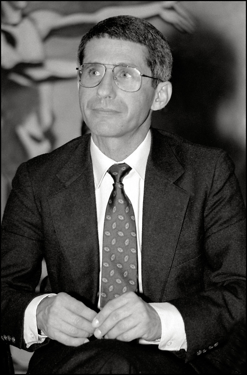 On October 19, 1989 ACT UP NY hosted an historic three hour meeting with Anthony Fauci, the then Director of the National Institute of Allergy and Infectious Diseases (NIAID), at The Gay and Lesbian Community Center (The Center) in New York City. The audience was allowed to ask Fauci questions related to HIV disease progression, treatment, community-based drug trials and allegations of homophobia in relation to Community Research Initiative funding.
