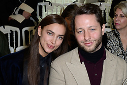 Irina Shayk and Derek Blasberg attending the Jean-Paul Gaultier Haute Couture Spring-Summer 2019 show as part of Paris Fashion Week in Paris, France on January 23, 2019. Photo by Aurore Marechal/ABACAPRESS.COM