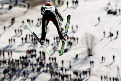 Robert Hrgota (SLO) at Flying Hill Individual in 4th day of 32nd World Cup Competition of FIS World Cup Ski Jumping Final in Planica, Slovenia, on March 22, 2009. (Photo by Vid Ponikvar / Sportida)