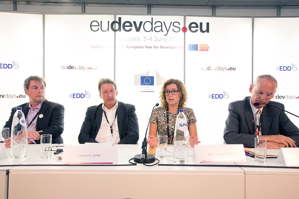 03 June 2015 - Belgium - Brussels - European Development Days - EDD - Health - Shared responsibility for the right to health in the post-2015 agenda © European Union