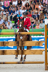 Nicolas Imschenetzky, (CHI), Pegase De Talma - Team & Individual Competition Jumping Speed - Alltech FEI World Equestrian Games™ 2014 - Normandy, France.<br /> © Hippo Foto Team - Leanjo De Koster<br /> 02-09-14