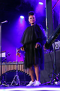 15 MAY-BROOKLYN, NEW YORK- Reccording Artist Nenah Cherry performs at the BAM Gala 2019 Inside held at the Brooklyn Expo Center on May 15, 2019 in the Green Point section of Brooklyn, New York City.  (Photo by Terrence Jennings/terrencejennings.com)