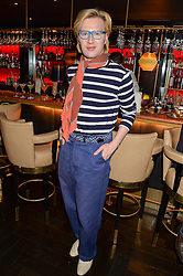 HENRY CONWAY at the launch of Giovanni's Gin Joint at Quaglino's, 16 Bury Street, London on 13th July 2016.