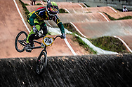 #216 (DODD Kyle) RSA at the 2016 UCI BMX World Championships in Medellin, Colombia.