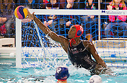 21-03-2016: Waterpolo: Japan v USA: Gouda<br /> <br /> <br /> <br /> Waterpolo match between ladies of team JAPAN and USA during the Olympic Qualification Tournament  (OQT) at Groenhovenbad in Gouda<br /> <br /> Foto: Gertjan Kooij