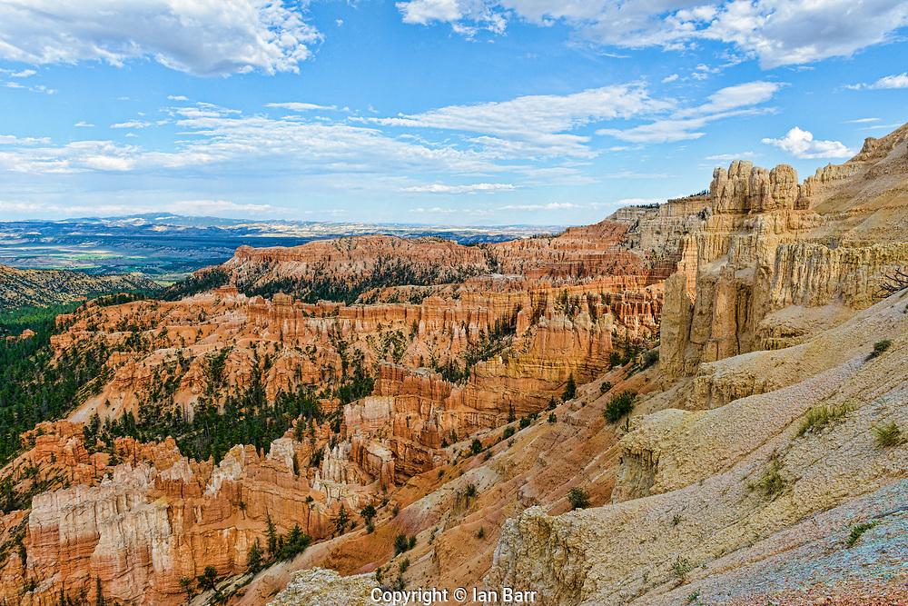 Inspiration Point,Bryce Canyon National Park, Elevation 8100ft, Utah, USA.