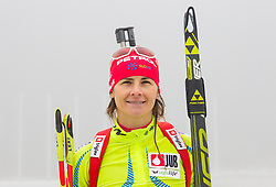 Andreja Mali during media day of Slovenian biathlon team before new season 2013/14 on November 14, 2013 in Rudno polje, Pokljuka, Slovenia. Photo by Vid Ponikvar / Sportida