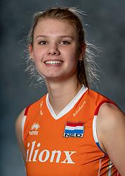 14-05-2019 NED: Photoshoot national volleyball team Women, Arnhem<br /> Eline Timmerman of Netherlands
