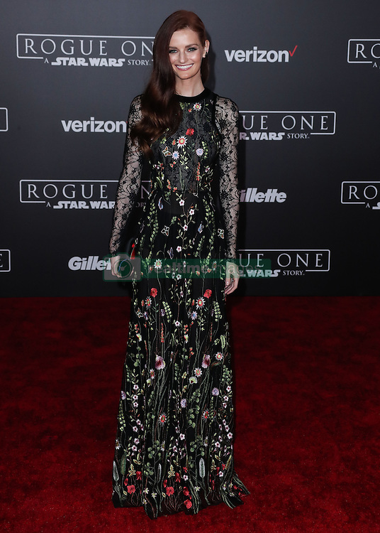 World Premiere Of Walt Disney Pictures And Lucasfilm's 'Rogue One: A Star Wars Story' at the Pantages Theatre on December 10, 2016 in Hollywood, California. 10 Dec 2016 Pictured: Lydia Hearst. Photo credit: Image Press/MEGA TheMegaAgency.com +1 888 505 6342