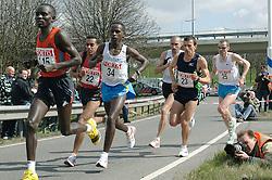 09-04-2006 ATLETIEK: FORTIS MARATHON: ROTTERDAM<br /> De 26e editie van de marathon van Rotterdam - Sander Schutgens (25) wordt 2de op het NK. Fotograaf Pim Ras ligt klaar<br /> ©2006-WWW.FOTOHOOGENDOORN.NL