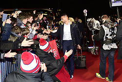 March 15, 2019 - Lille, France, FRANCE - Arrivee au Stade des joueurs Lillois.Thiago Maia Alancar  (Credit Image: © Panoramic via ZUMA Press)