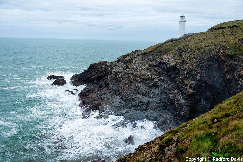 Trevose Lighthouse, Cornwall, England