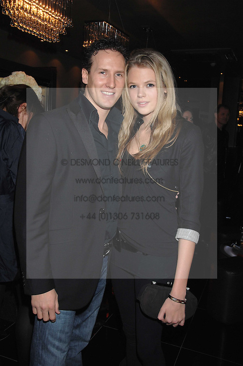 Dancer BRENDAN COLE and GABRIELLA ANSTRUTHER-GOUGH-CALTHORPE at the grand opening of the Amika nightclub, 65 High Street Kensington, London on 28th February 2007.<br /><br />NON EXCLUSIVE - WORLD RIGHTS