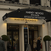 Harvey Nichols department store, flagship store in Knightsbridge, London