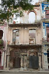 Shell Of Old Havana Building
