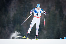 Newell Andrew (USA) during Man 1.2 km Free Sprint Qualification race at FIS Cross<br /> Country World Cup Planica 2016, on January 16, 2016 at Planica,Slovenia. Photo by Ziga Zupan / Sportida