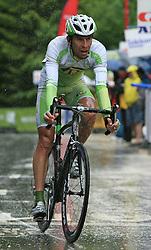 Radoslav Rogina of Croatia (Perutnina Ptuj) during 3rd stage of the 15th Tour de Slovenie from Skofja Loka to Krvavec (129,5 km), on June 13,2008, Slovenia. (Photo by Vid Ponikvar / Sportal Images)/ Sportida)