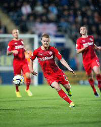 Rangers McGregor. Falkirk 1 v 3 Rangers, Scottish League Cup game played 23/9/2014 at The Falkirk Stadium.