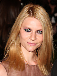 May 6, 2013 - New York, New York, U.S. - Actress CLAIRE DANES attends the Costume Institute Benefit gala celebrating  the opening 'PUNK: Chaos To Couture' held at the Metropolitan Museum of Art. (Credit Image: © Nancy Kaszerman/ZUMAPRESS.com)