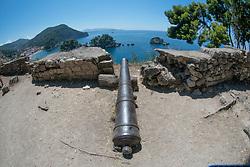 View from Castle, Parga, Epirus, Greece