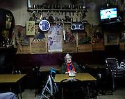 Spain, Barcelona, old cafe, Barrio Chino