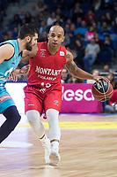 Montakit Fuenlabrada Gregory Vargas during Liga Endesa match between Movistar Estudiantes and Montakit Fuenlabrada at Wizink Center in Madrid, Spain. November 12, 2017. (ALTERPHOTOS/Borja B.Hojas)