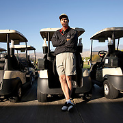 Doug Garwood at the Srixon Series Westin Challenge, part of the Golden State Golf Tour, held at the Gary Player Course in Rancho Mirage, CA.